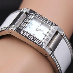 Diamond White Sapphire 2.76 tcw Watch